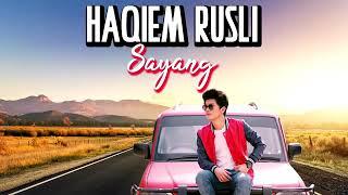 Gambar cover Haqiem rusli sayang original