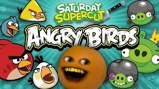 All Annoying Orange vs Angry Birds Episodes [Saturday Supercut🔪]