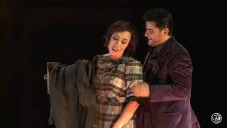 Marina Costa-Jackson & Nicholas Brownlee in La Bohème at the LA Opera