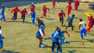 BLOODS AND CRIPS BIGGEST FIGHT!
