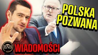 Unia NIE ODPUSZCZA! Polska ZNOWU POZWANA| WIADOMOŚCI