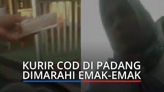 Berkah Viral Drama COD di Padang, Kurir Dapat Hadiah HP karena Sabar Dimarahi Emak emak