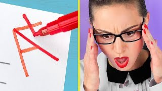 Fun and Useful School Supplies! 26 DIY Back to School Hacks