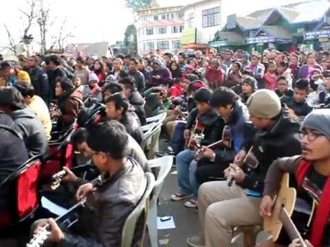 Imagine – John Lennon Largest Guitar Ensemble at Darjeeling