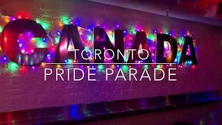 🏳️🌈 САМЫЙ БОЛЬШОЙ В МИРЕ ГЕЙ ПАРАД. Торонто, Канада. Парад гордости 💕