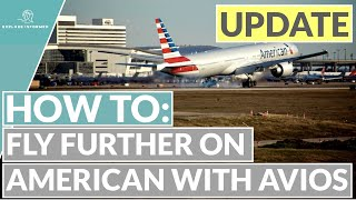 [June Update] How to use Avios to fly on American