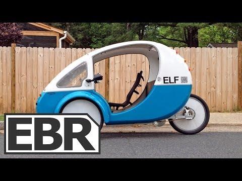 Organic Transit ELF Video Review - Solar Powered Recumbent Electric Trike