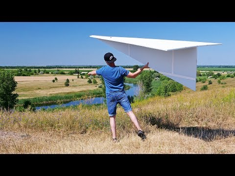 Build Your Own Giant Paper Plane