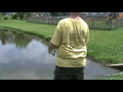 pond fishing 6/13/10 part 2