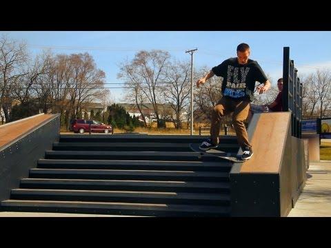 Rockford, IL Skatepark (HD)