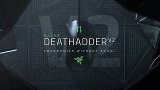 YouTube Video mana0sGU3DU for Product Razer DeathAdder v2 Gaming Mouse by Company Razer Inc. in Industry Peripheral