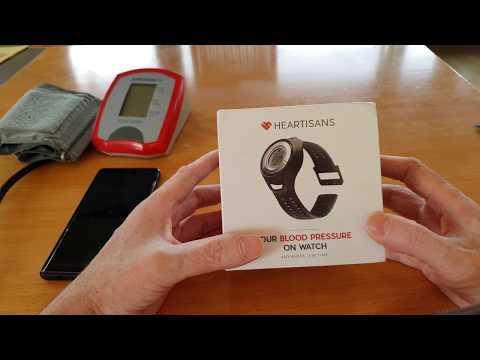 Heartisans Blood Pressure Blutdruck Uhr - Unpack Video