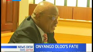 Onyango Oloo's impeachment is the first to be upheld by a Court of law