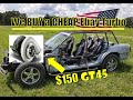 GT45 turbo purchase for our Crown Vic Deathkart, the #NarxKart narxcart