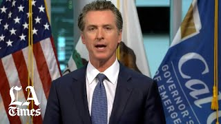 Newsom says California shutdown must continue