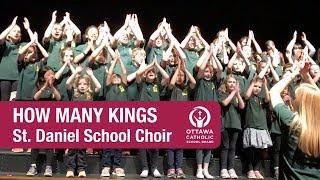 "St. Daniel School choir singing ""How many Kings"""