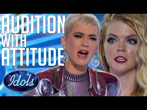 AUDITION With ATTITUDE! Can Koby Sing?! Katy Perry Tells Her How It Is... American Idol 2018