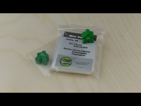 Mini Sleeve Pack (100) video