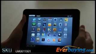 Everbuying Ampe A85 Android 4.0 Tablet PC-8 inch Tablet PC