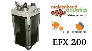 AquaManta EFX Standard External Filter