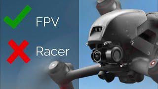 FPV (SIM) RACER (NÃO)