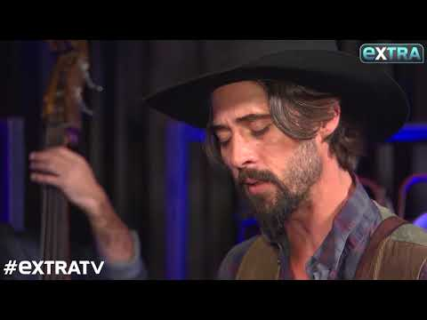 "Performing ""How Shall The Sparrow Fly"" from the movie Hostiles with Ryan Bingham, for Extra."