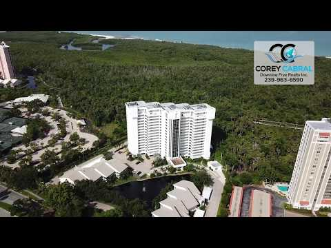 Pelican Bay St. Lucia Naples Florida 360 degree video fly over