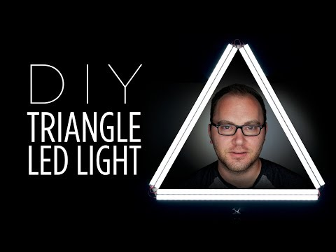 "DIY Triangle ""Ring"" LED Light"