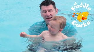 How To Teach Your Child To Tread Water (aged 2-5 years) | Puddle Ducks