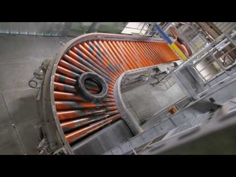 BEUMER Alternative Fuel handling system example - whole tires