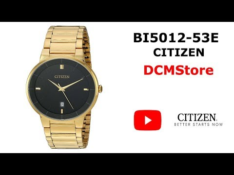 BI5012-53E Citizen Quartz Gold ...... DCMStore