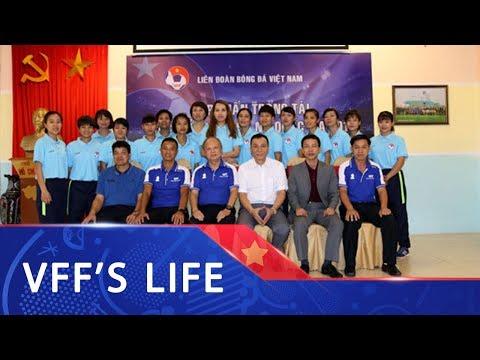 Khai mạc lớp tập huấn trọng tài các giải bóng đá Nữ Quốc gia năm 2019