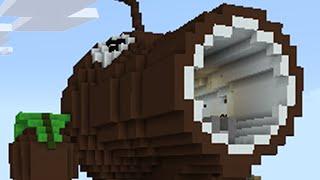 Download Youtube: Minecraft vs Zombies | COCONUT CANNON!! (Firing Range) | PvZ  Land