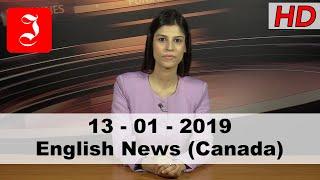 News English Canada 13th Jan 2019