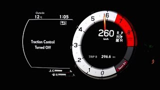 2018 Lexus LC500h Launch Control 0-260km/h Top Speed Acceleration