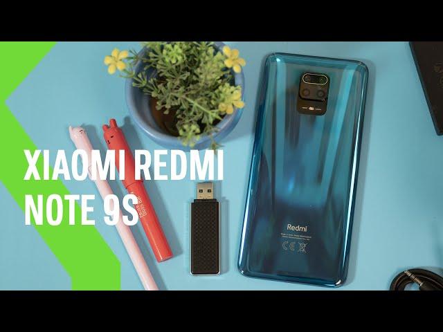 Redmi Note 9S, análisis: una POWERBANK con cuatro cámaras traseras
