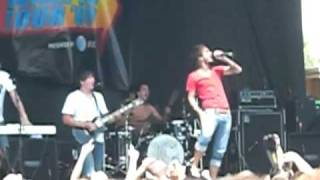 """Chiodos """"Two Birds Stoned At Once""""  Live at Warped Tour in Buffalo (Darien Lake) 07/16/09"""