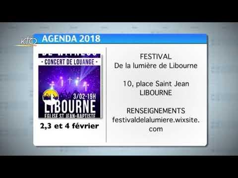 Agenda du 29 janvier 2018