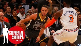 Stephen A. can't stand that Steph Curry isn't on the New York Knicks | Stephen A. Smith Show