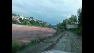 preview picture of video 'Flood in river neelam 2012'