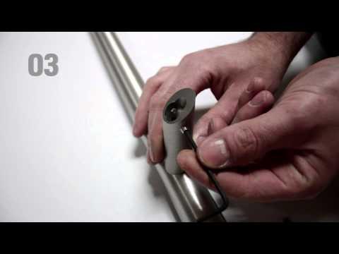 Montageanleitung für Stangengriff