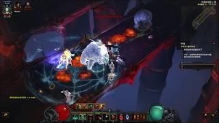 Diablo 3 2.6.0  死靈法師 塔格奧血套 宏偉秘境90層速刷/Necromancer Trag'Oul Blood Solo GR90