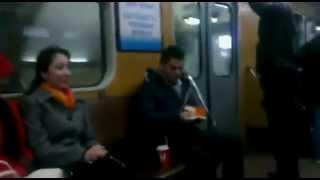 Прикол в Ташкентском метрополитене!