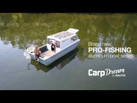 NAUTIG CarpDream® SOLAR Aluminum fishing boat - rybářská loď