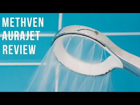 Review of the Methven Aurajet rain fall shower head