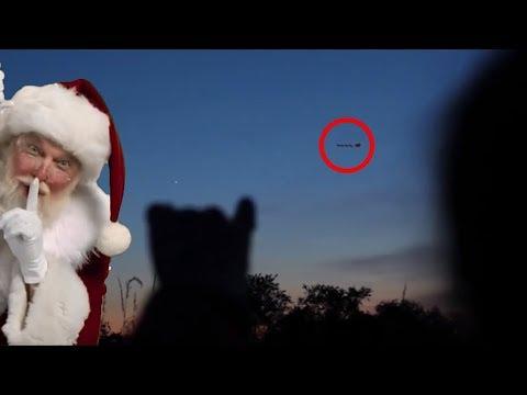 10 WEIHNACHTSMANN Sichtungen an Weihnachten