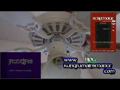How To Stop Wobble In A Paddle Ceiling Fan No Ceiling Fans