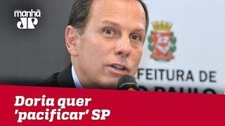 Governador eleito, João Doria quer 'pacificar' SP