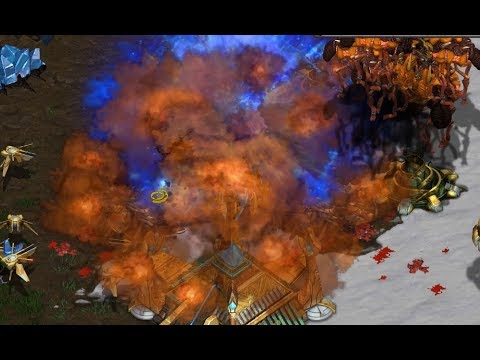 Snow Map! July (Z) v Sea (P) on Avalon - StarCraft  - Brood War REMASTERED