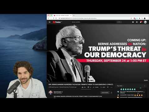 Bernie Addresses The Trump Threat   Rational Live!